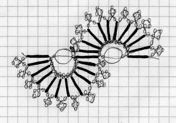 Схемы плетения... Ожерелья
