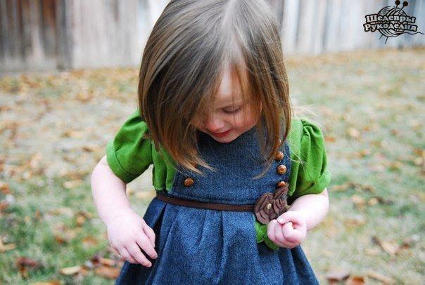 Шьем девочке платье (8 фото) - картинка