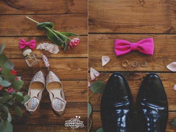 Свадьба в необычной цветовой гамме серебро — фуксия… (10 фото) - картинка