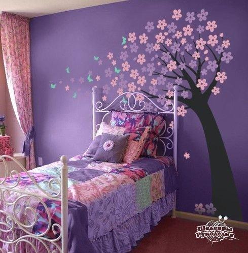 Детская спальня для девочки (1 фото) - картинка