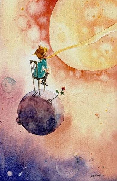 Маленький принц (6 фото) - картинка