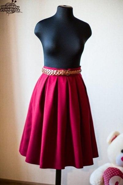 Шьём юбку (9 фото) - картинка