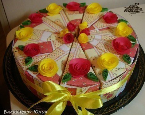 Торт с пожеланиями (10 фото) - картинка