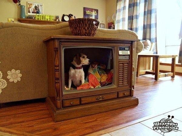 Новая жизнь старого телевизора. (1 фото) - картинка