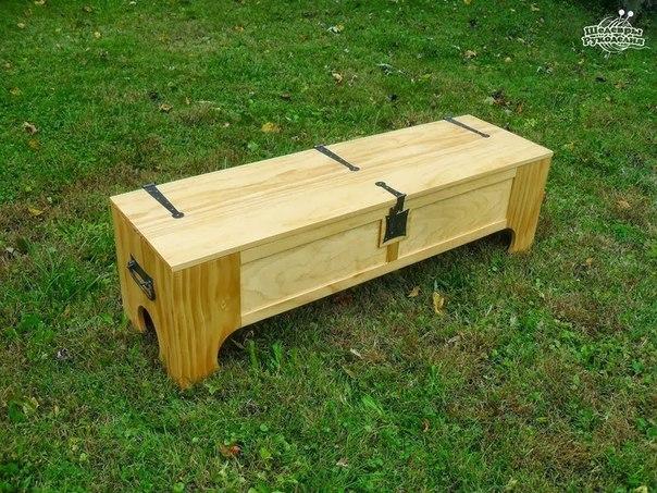 Ящик превращается… в кровать (9 фото)