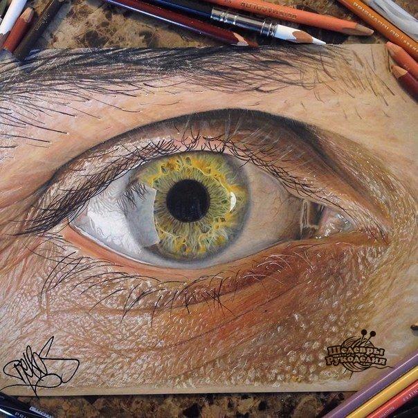 Рисунок цветными карандашами. (1 фото) - картинка