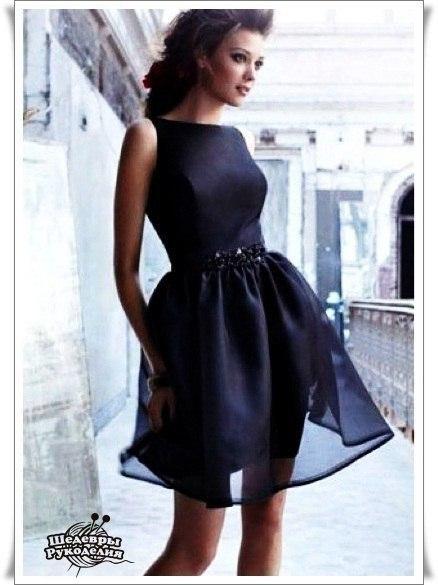 Шьем платье. Выкройка (9 фото) - картинка