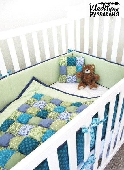 Декор детской кроватки своими руками (5 фото) - картинка
