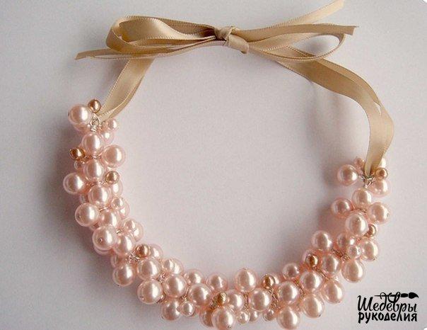 Ожерелье из бусин (5 фото) - картинка