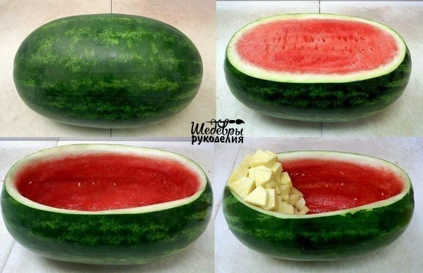 Как красиво подать фрукты (2 фото)