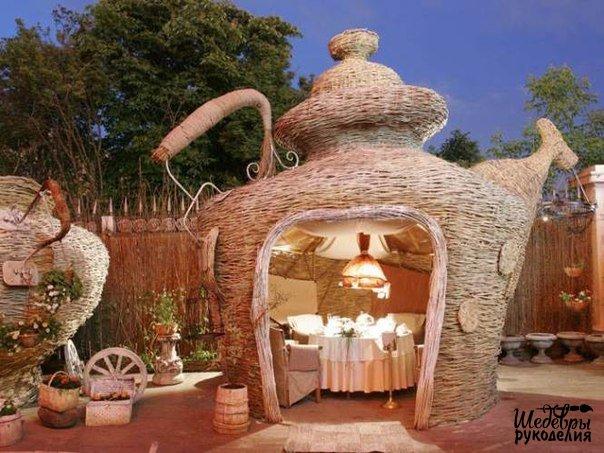 Уютная летняя кухня (1 фото) - картинка