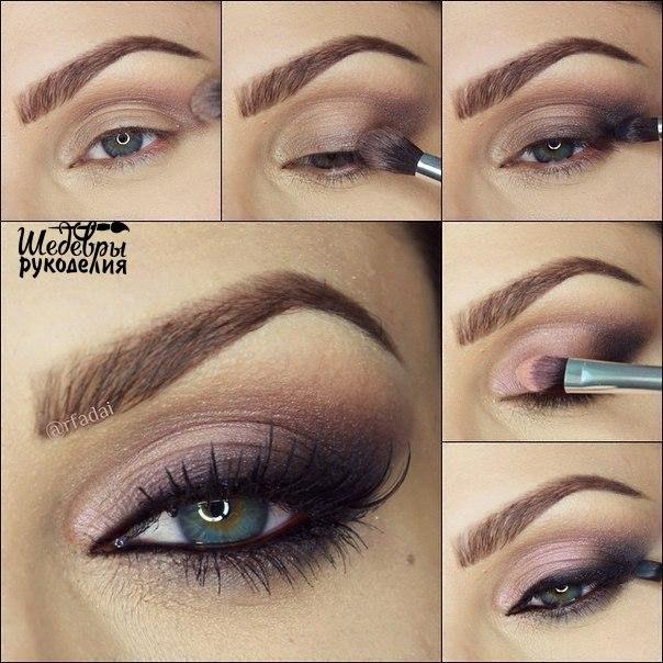 Красивый макияж (1 фото) - картинка