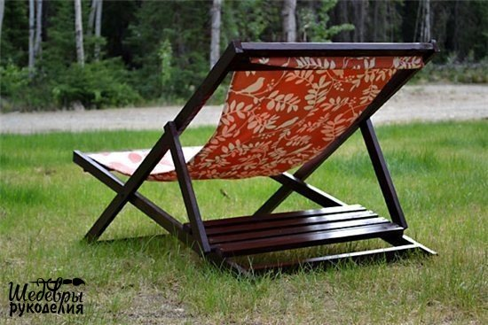 Складное кресло своими руками (6 фото) - картинка