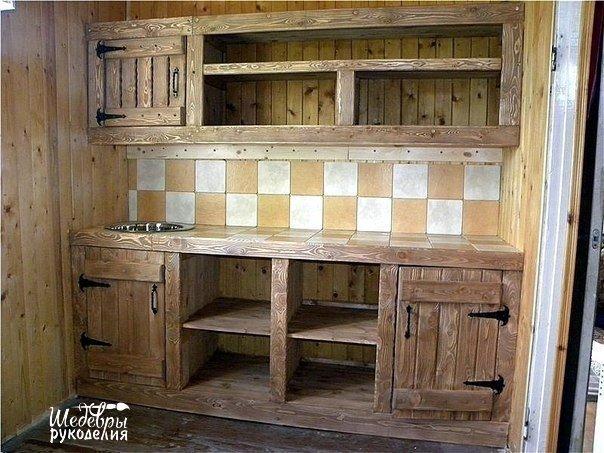 Дачная кухня своими руками (7 фото) - картинка