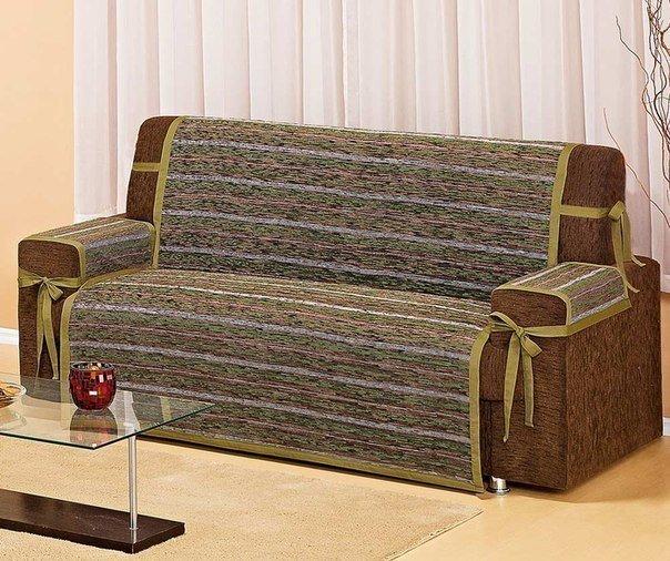 Ideas para el hogar decoraci n y costuras funda para sill n - Como hacer una funda para un sofa ...
