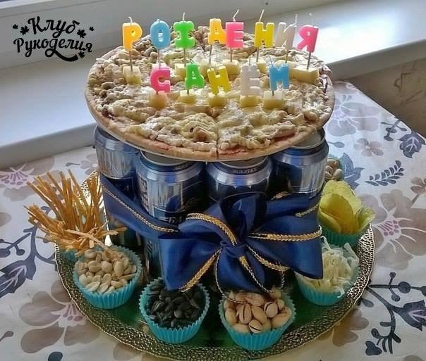 Фото торт из банок пива своими руками фото 543