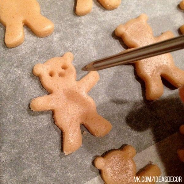 Милые печеньки своими руками