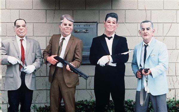 Рассказывают, что когда-то, в далёкой провинции, грабители зашли в банк.