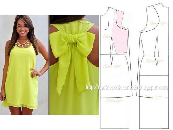 Моделирование платьев (7 фото) - картинка