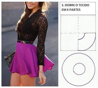 Шьем юбки. Выкройки (7 фото) - картинка