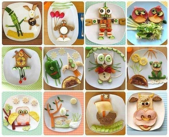 Идеи необычной подачи обычных бутербродов…. (5 фото) - картинка