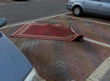 Аладдин паркуется как мудак