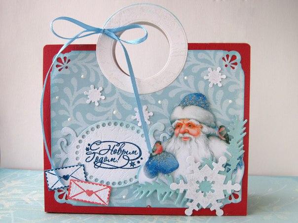 Новогодняя сумочка (5 фото) - картинка