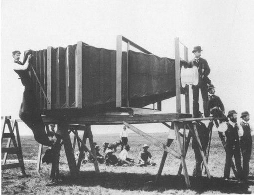 Панорамна зйомка в 1900 році