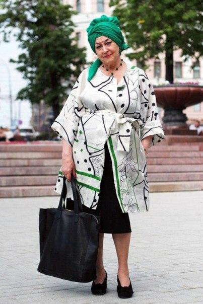 Стильные русские пенсионеры