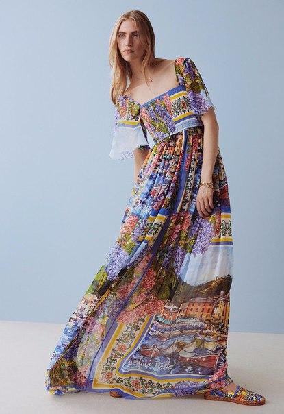 Капсульная коллекция Dolce &amp Gabbana c красочными принтами Портофино… (8 фото) - картинка