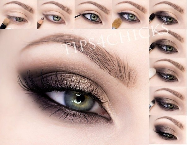 Макияж: Кошачий глаз (1 фото) - картинка