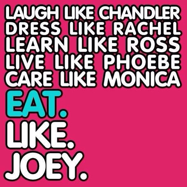 Смейся как Чендлер.