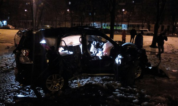Жуткая авария: пострадали несколько человек (ФОТО)