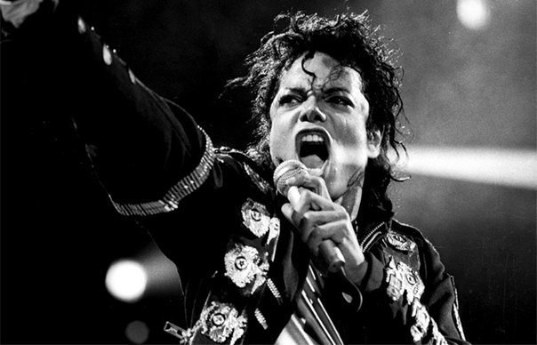 Фото с концертов Майкла Джексона.
