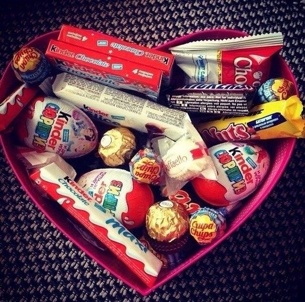Подарок конфета в коробке своими руками