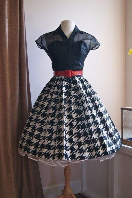Винтажное платье 50 х