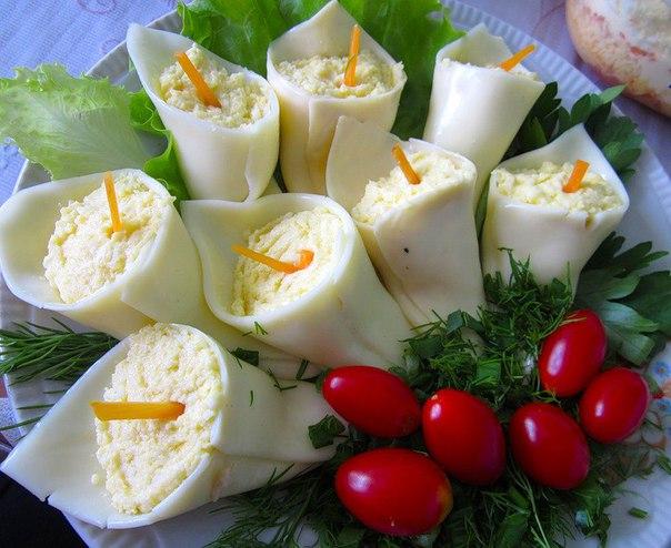 Сырные каллы рецепт с фото