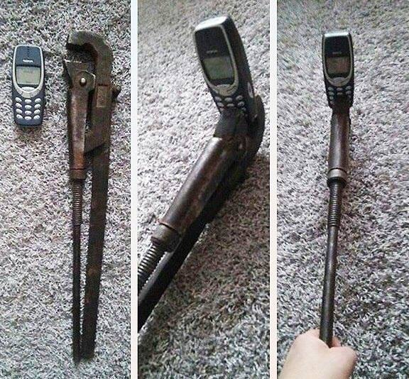 Selfie stick for 3310