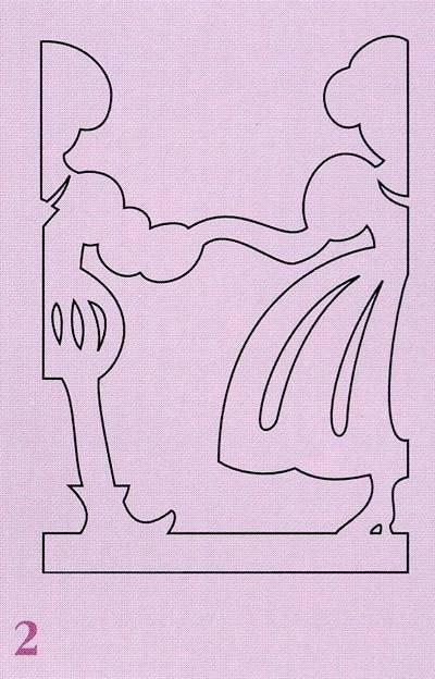 Фигурки из бумаги на окна как их сделать