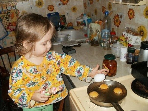 Что приготовить на завтрак дочери