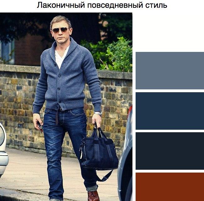 Подбор цвета одежды для мужчины