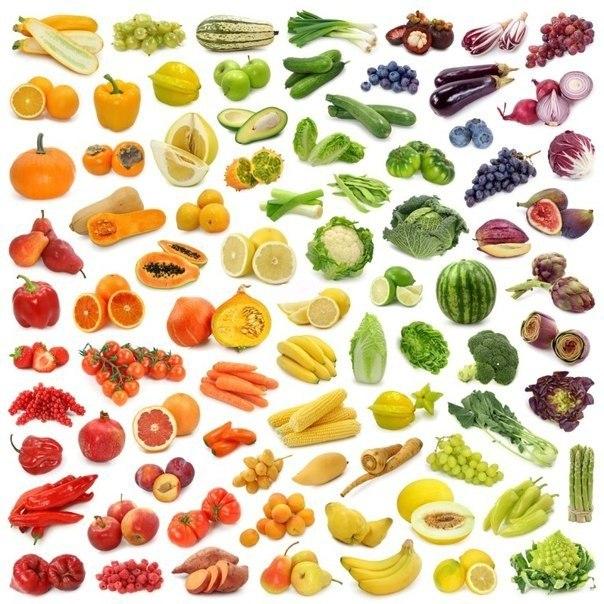 Как влияет цвет пищи на здоровье: