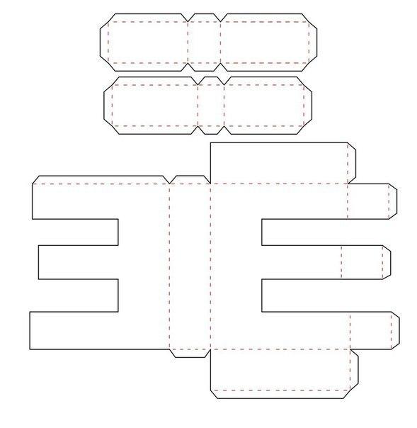 Объемная буква и из бумаги своими руками