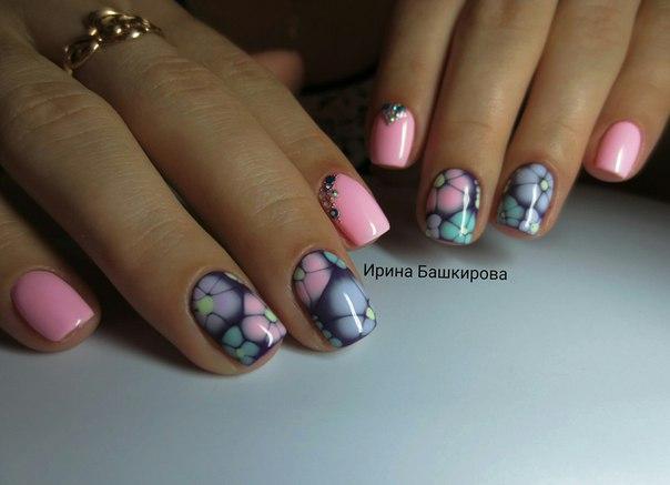 Дизайн дорогих ногтей