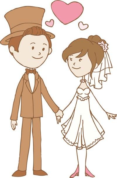 Свадебные картинки для творчества (6 фото) - картинка