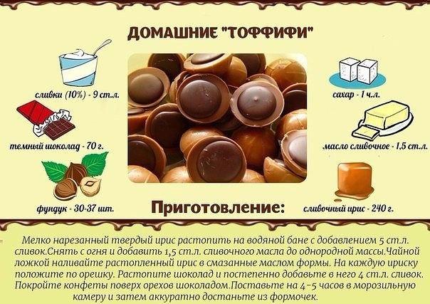 Домашние конфеты быстро