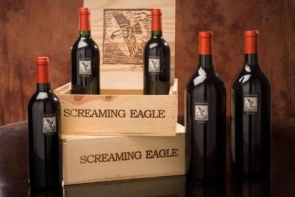 Вино Screaming Eagle (цена — $500 000)