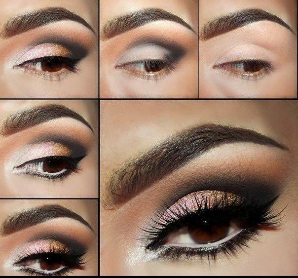 Дополните «smoky eyes» четкой