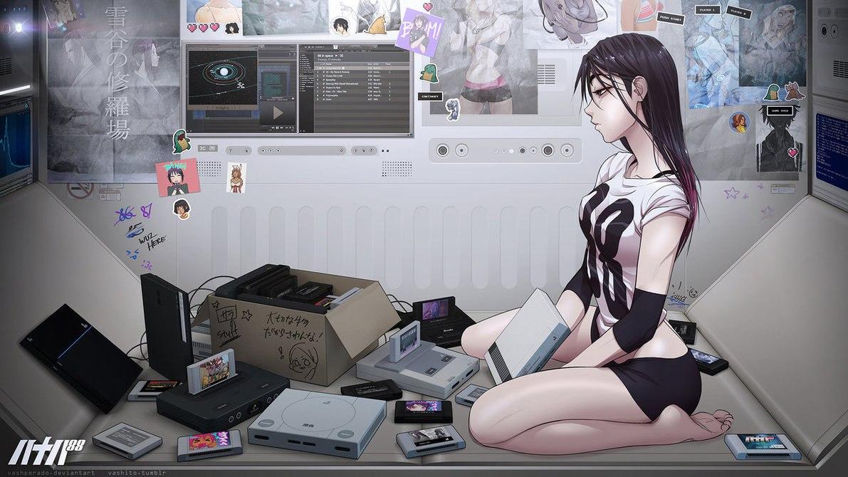 S e x anime game erotic scene