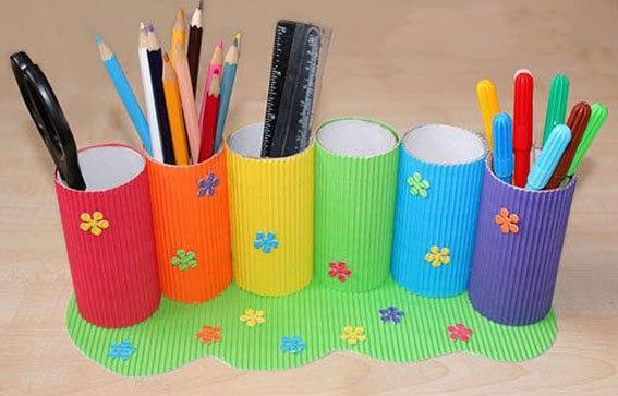 Подставка для карандашей своими рукам